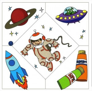 astronot puzzle