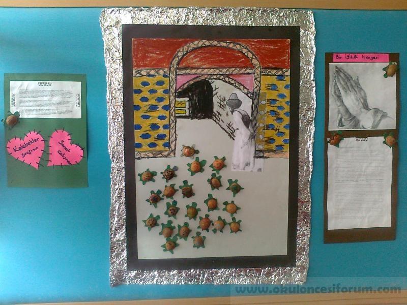 Kaplumbaga Terbiyecisi Okul Oncesi Etkinlikleri
