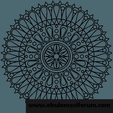 Bir Dolu Mandala Ornekleri Okul Oncesi Etkinlikleri