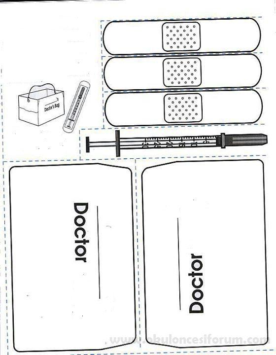 Doktor Ve Doktor çantası Okul öncesi Etkinlikleri