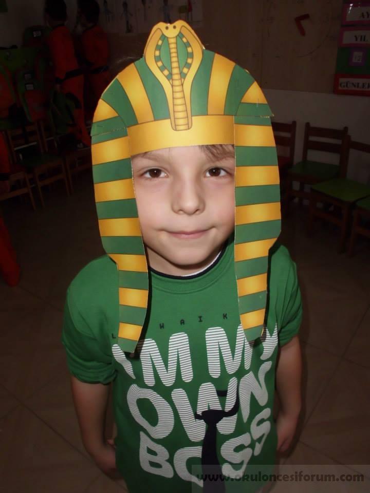 Mısırlı çocuklar Olduk Okul öncesi Etkinlikleri