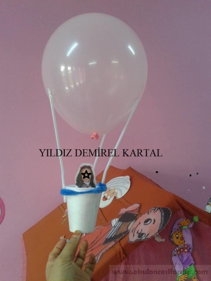 Balonla Kapadokya Gezisi Okul Oncesi Etkinlikleri