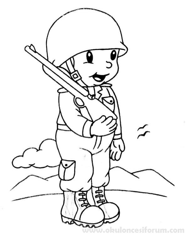 Asker Boyama Ve Etkinlikleri Okul öncesi Etkinlikleri