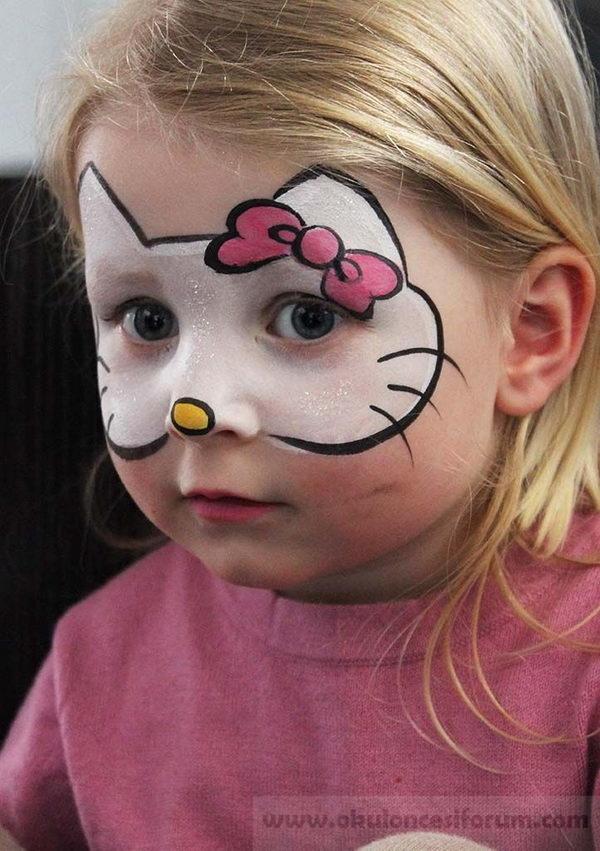 Yüz Boyama Modelleri Okul öncesi Etkinlikleri