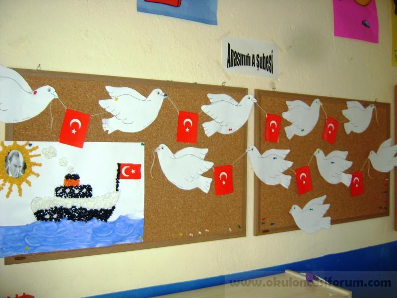 Bandırma Vapuru Ve Barış Güvercinleri Okul öncesi Etkinlikleri