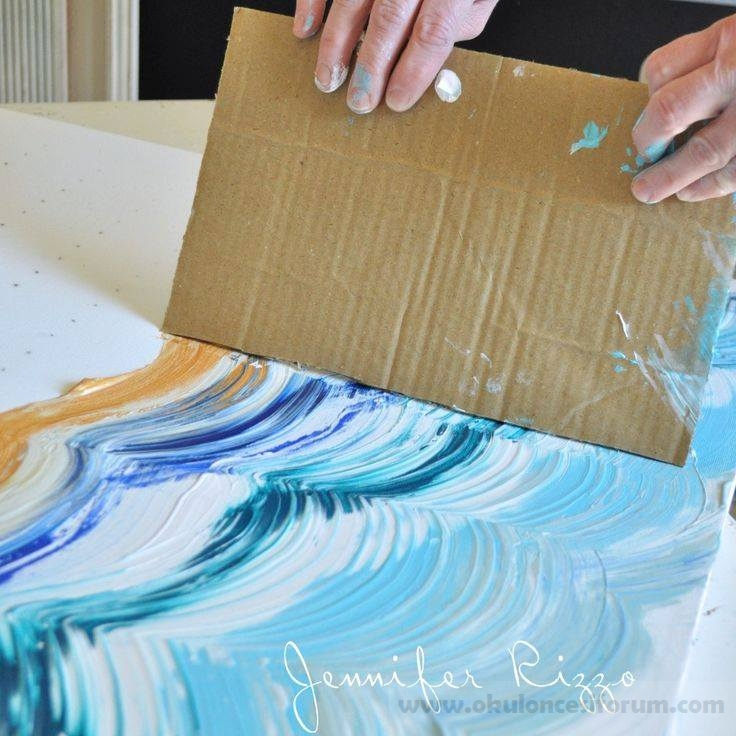 Okul öncesi Eğitimde Artık Materyallerle Boyama Ve Baskı Teknikleri
