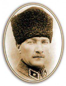 HKLUYT-cerceveli-ataturk-portresi-resmi-II