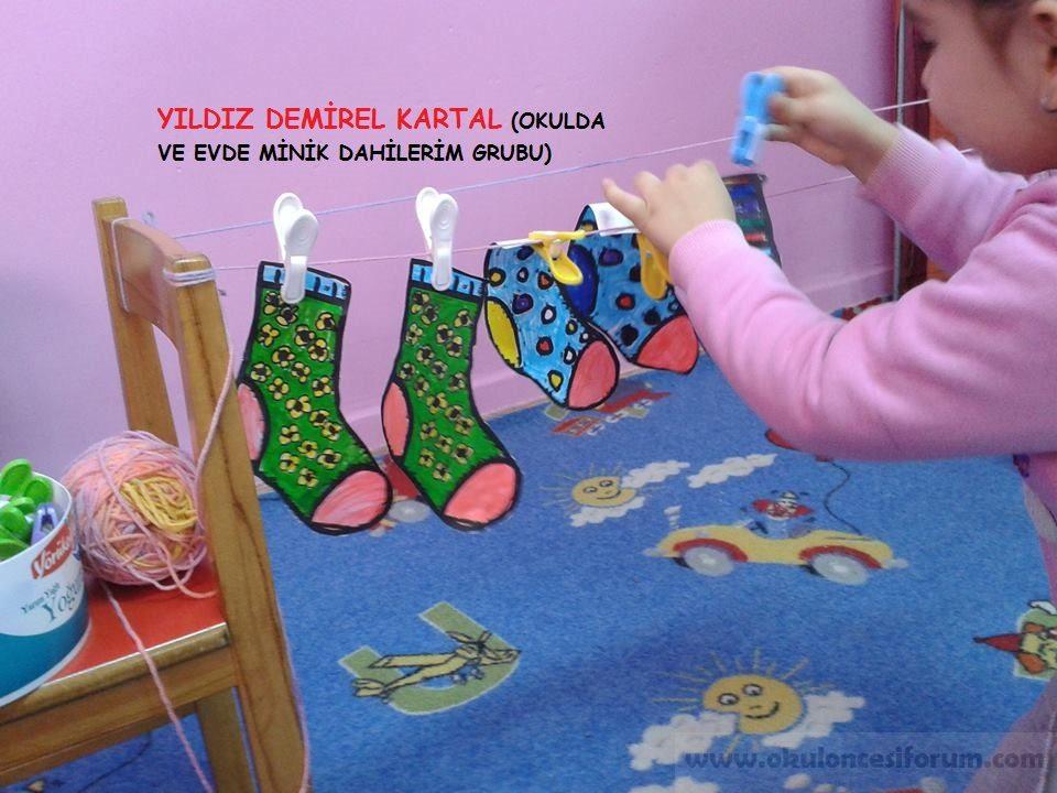 Okul öncesi Eğitimde çoraplarla Matematik Etkinliği Okul öncesi