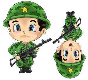 üzgün boyalı 10 kasım asker  çocuk