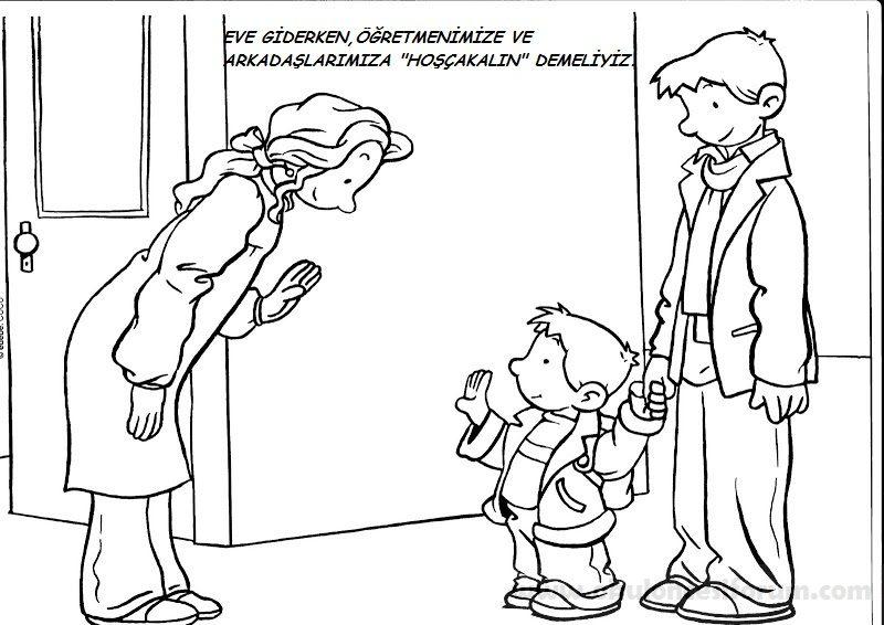 Görgü Kuralları Kutumuz Okul öncesi Etkinlikleri