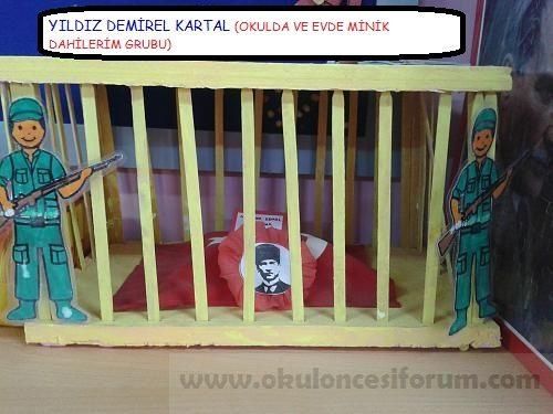 Ataturk Haftasi Anitkabir Projesi Ve Boyama Sayfalari Okul