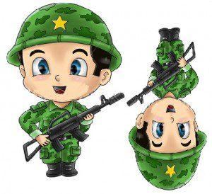 asker  çocuk