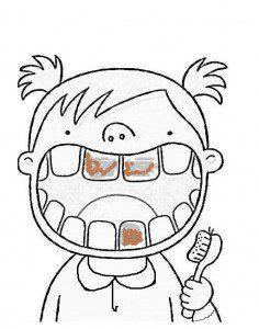diş sağlığı fırçalama kız