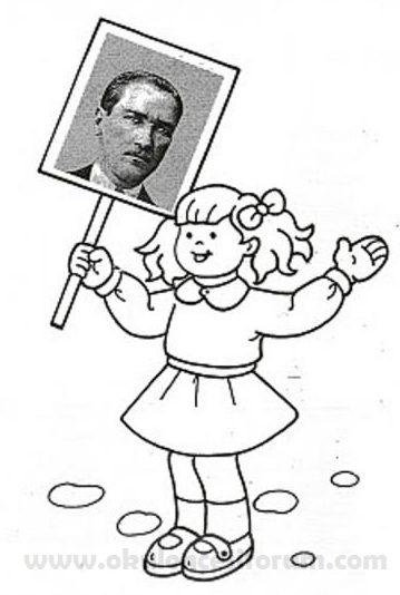 The Best Ataturk Portre Boyama Sayfalary Sayfalari