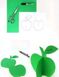üç boyutlu elma yapımı