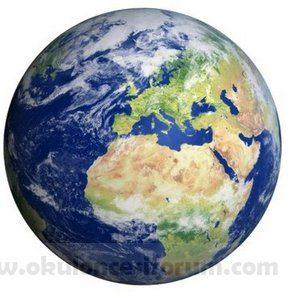 Okul öncesi Eğitimde Dünya Ve Katmanları Okul öncesi Etkinlikleri