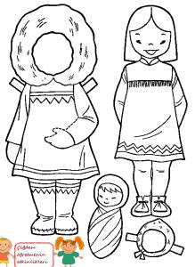 eskimo kız