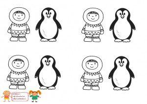 eskimo ve penguen
