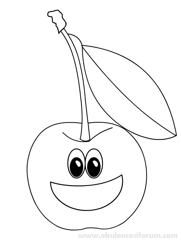 Yerli mal haftas s slemeleri i in irin meyveler for Disegni da colorare ciliegie