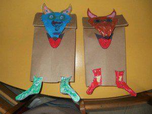 çoraplı tilki kukla 8
