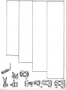 şirin kız ve üç ayı kukla şeritleri