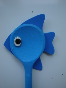 balık kaşık kukla