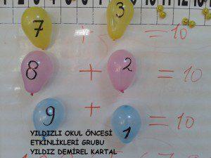 Balon deneyi ile toplama etkinliği (1)