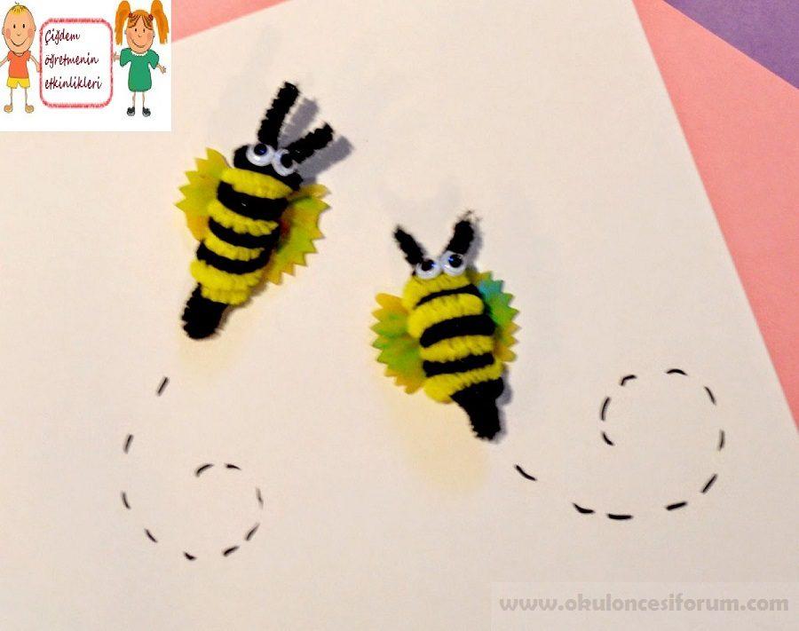 Kelebek Makarnadan Etkinlikler Okul öncesi Etkinlikleri