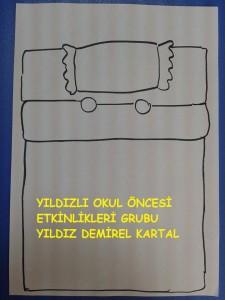 Yatma kuralları yatak örtüm ,ip baskısı (1)