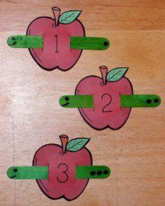 elma kurdu ile sayma oyunu 1