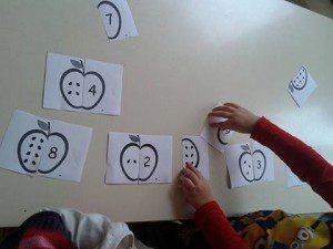 elma sayı eşleştirme 3