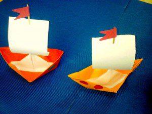kağıt gemi