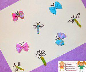 makarnadan kelebek ve yusufçuklar