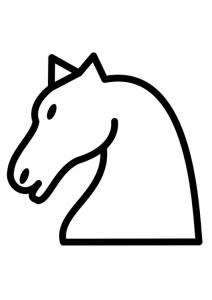 satranç taşları at taş