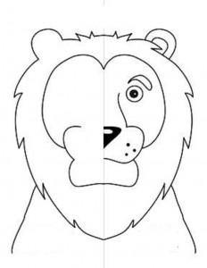 simetri çalışması hayvanlar 11