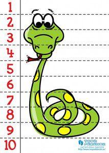 yılan puzzle