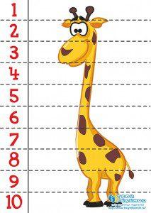 zürafa 2 puzzle