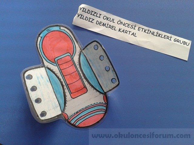 Kalıplı Ayakkabı Bağcığı Bağlama Etkinliği örneği Okul öncesi