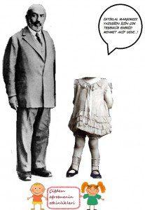 MEHMET AKİF ERSOY ve kız çocuk