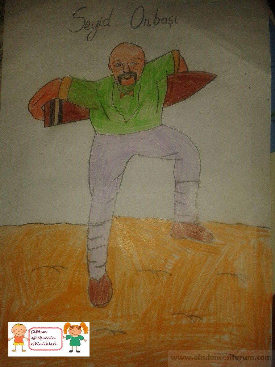 çanakkale Kahramanı Seyid Onbaşı Okul öncesi Etkinlikleri