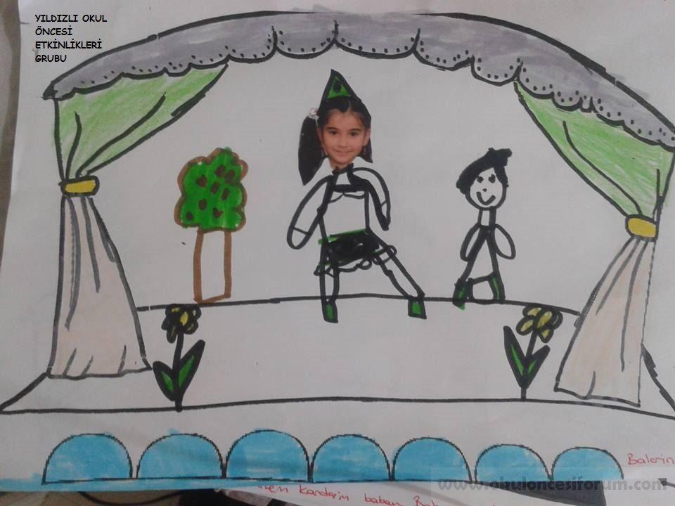 Okul öncesi Eğitimde 27 Mart Tiyatro Haftası Sanat Etkinliği örneği