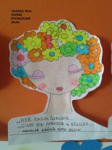 kadınlar günü etkinlik örneği-sanat etkinliği- (2)