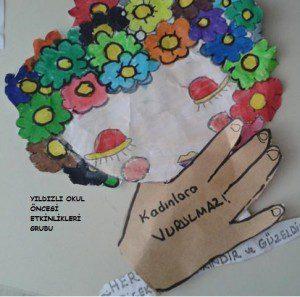 kadınlar günü etkinlik örneği-sanat etkinliği- (3)
