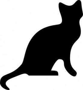 kedi siluet 2