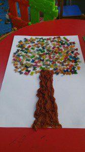 makarnadan ağaç yapımı  (1)