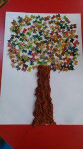 makarnadan ağaç yapımı  (2)