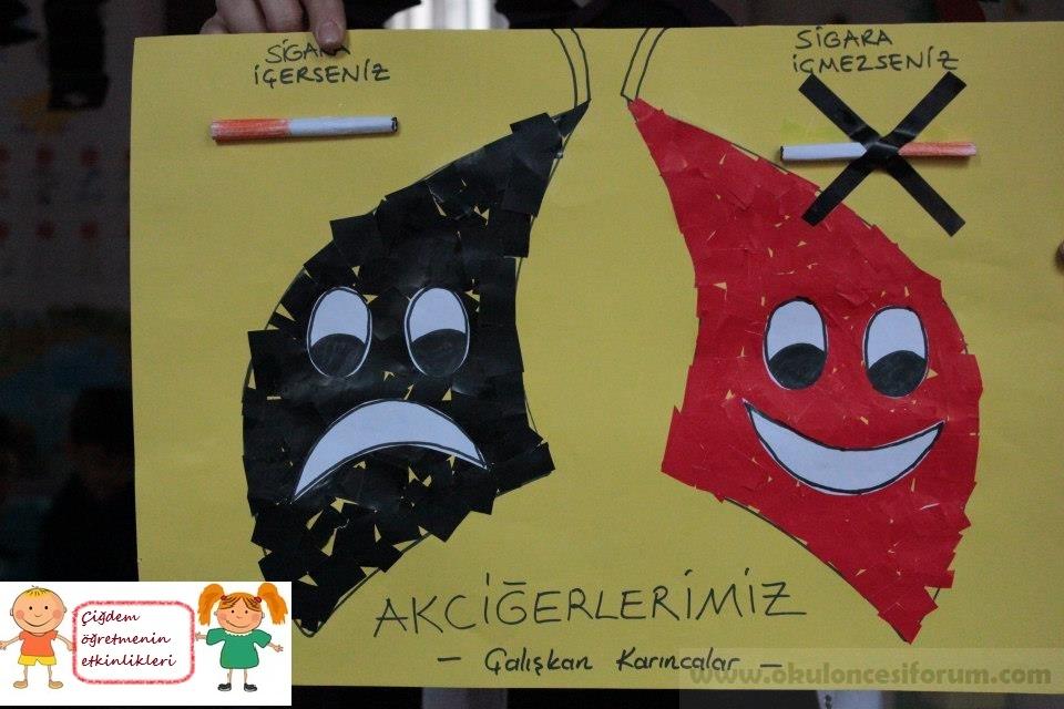 Yeşilay Haftası Grup çalışması Okul öncesi Etkinlikleri