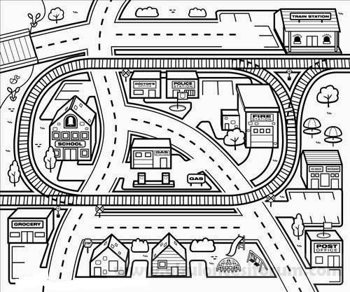 Karton şehrimizde Taşıtlar Ve Trafik Okul öncesi Etkinlikleri