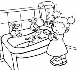 ellerini sabunla