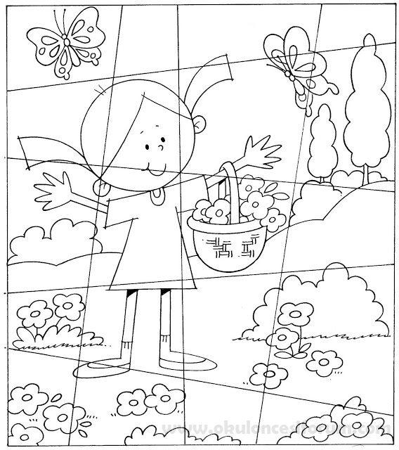 Bir Ilkbahar Puzzle Yapalım Okul öncesi Etkinlikleri